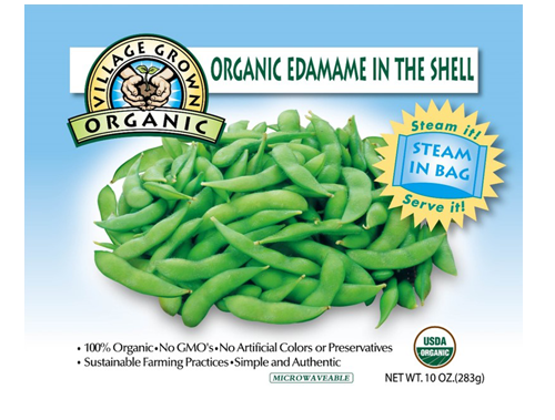 ORGANIC EDAMMAME IN THE SHELL